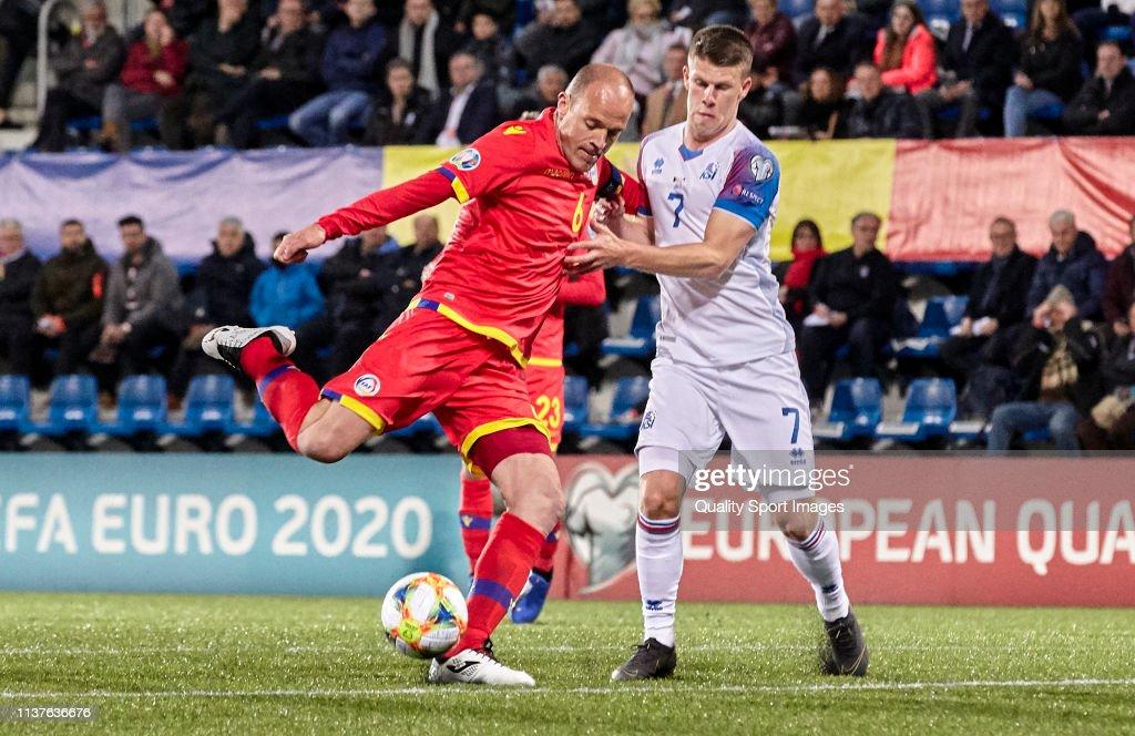 Andorra v Iceland - UEFA EURO 2020 Qualifier : News Photo