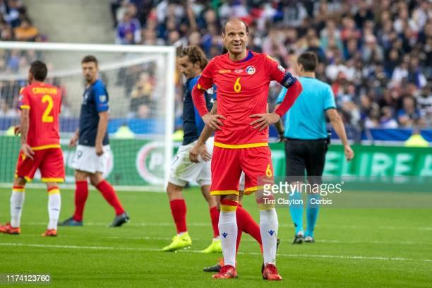 September 10: Ildefons Lima of Andorra during the France V Andorra, UEFA European Championship 2020 Qualifying match at Stade de France on September...