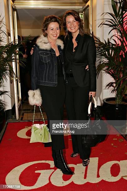 Ildiko Von Kürthy Und Christiane Hoffmann Bei Der Gala VipLounge Im Doc Cheng In Hamburg Am 251004