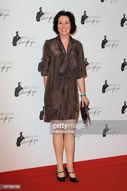 Ildiko von Kuerthy attends the 100th anniversary of founder of Springer Verlag publishing group Axel Springer at the Axel Springer house on May 2...