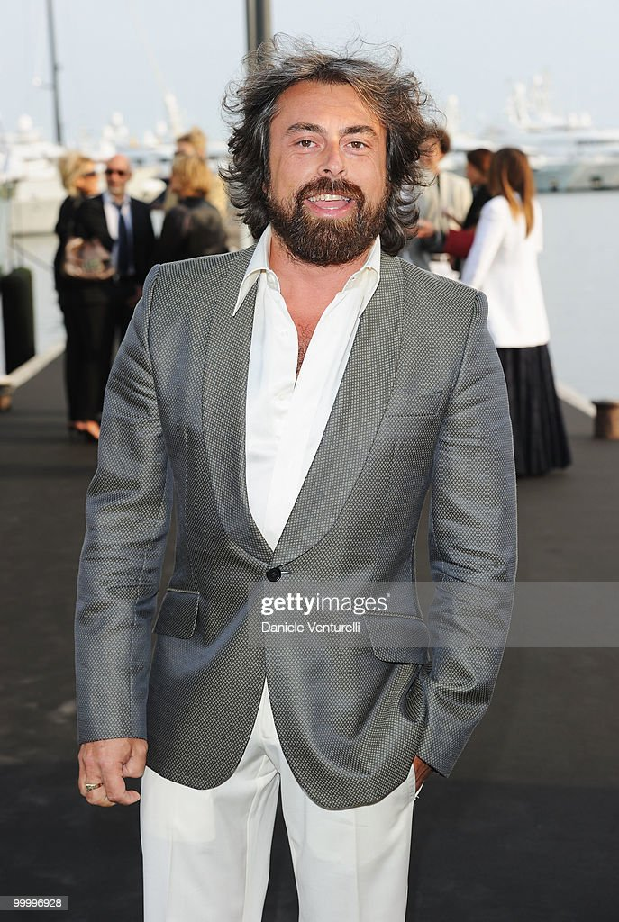 Ildo Damiano attends the Fair Game Cocktail Party hosted by Giorgio Armani held aboard his boat 'Main' during the 63rd Annual International Cannes Film Festival on May 19, 2010 in Cannes, France.
