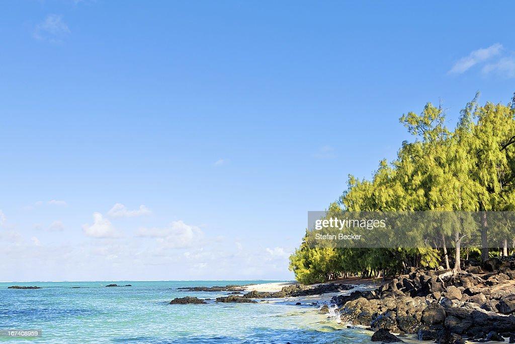 Île aux Cerfs, Mauritius, Südafrika : Stock-Foto
