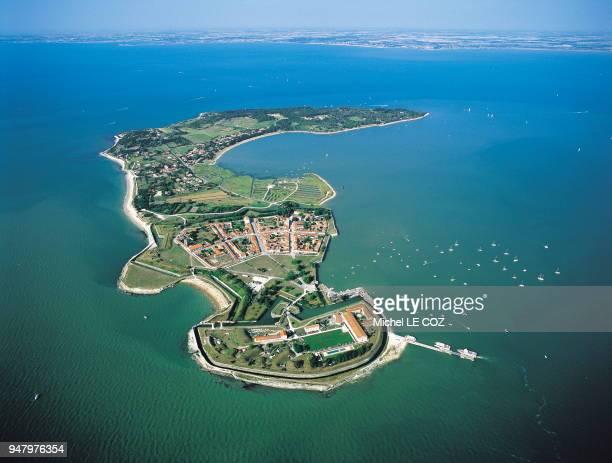 Ile d'Aix, l'une des iles de l'archipel charentais.