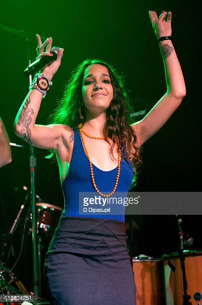 Ileana Cabra Joglar aka PG13 of Calle 13 performs at Irving Plaza on May 6 2011 in New York City