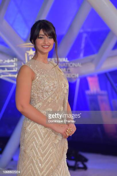 Ileana D'Cruz attends the tribute to Jillali Ferhati during the 17th Marrakech International Film Festival on December 5 2018 in Marrakech Morocco