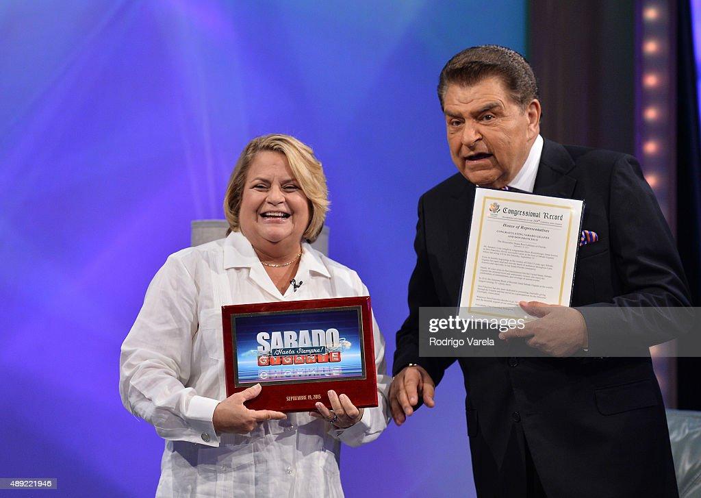 "Univision's ""Sabado Gigante"" Finale - Show"