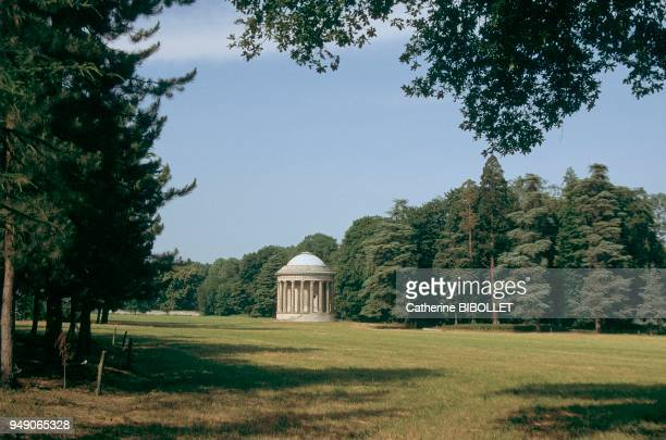 Essonne the park of Jeurre Castle The four best known works created in Mereville by Hubert Robert for the banker of Louis XV the Marquis of Laborde...