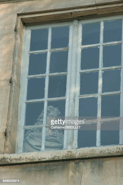 HautsdeSeine Meudon The city's museum of Art and History formerly the residence of Armande BEJART The bust of Molière framed in the window...