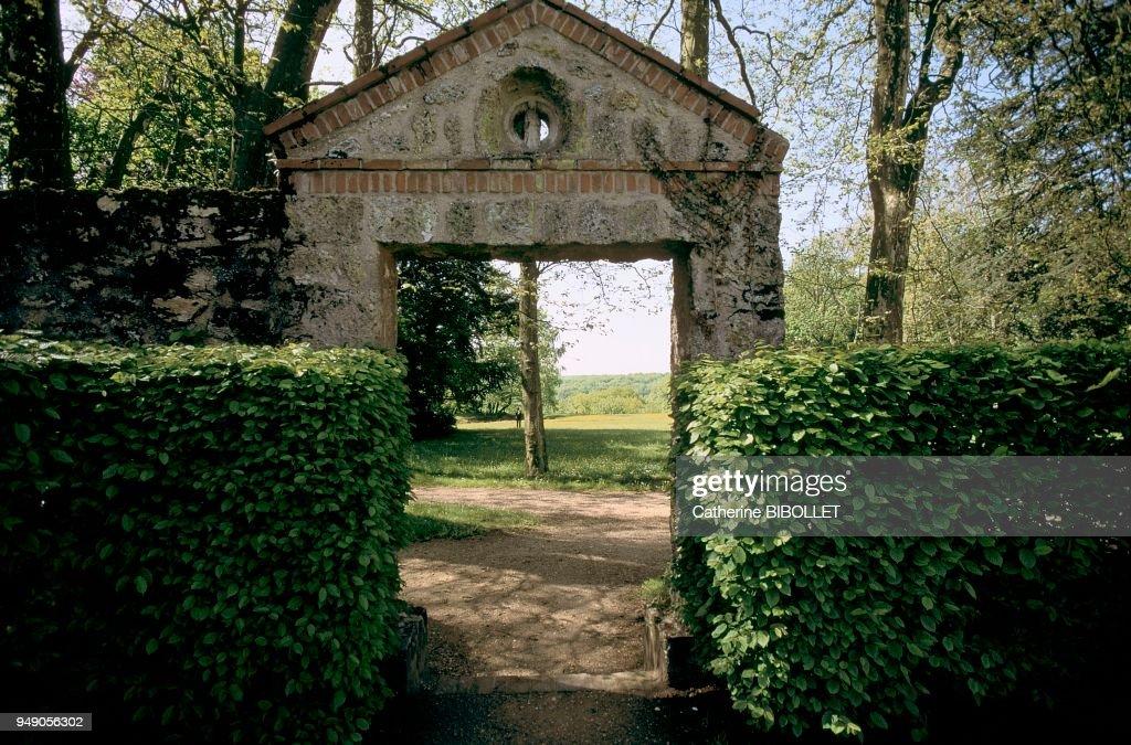 Yvelines Port Royal Des Champs The Jardin Des Solitaires The