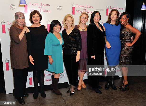 Ilene Beckerman Maria Tucci Ann Harada Daryl Roth Alicia Goranson Karen Carpenter Margaret Colin and Tichina Arnold attend the after party for the...