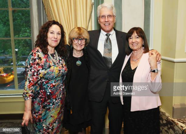Ilene Fishman Dr Margot Maine Doug Bunnell Judi Goldstein attend the National Eating Disorders Association Annual Gala 2018 at The Pierre Hotel on...