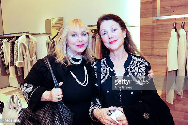 Ilene Powers and Carrie Frazier attend the Max Mara And Women In Film Celebrate The Fall/Winter 2015 Collection on November 12 2015 in Beverly Hills...