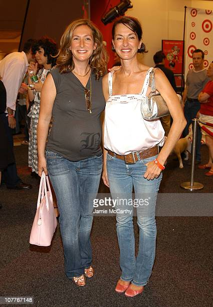 Ilene Rosenzweig and Cynthia Rowley during Grand Opening of Target Store on Flatbush Avenue in Brooklyn at Target Store Flatbush Avenue in Brooklyn...
