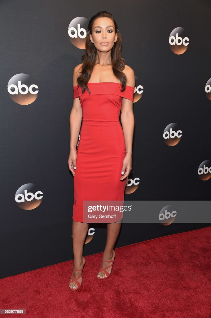Ilfenesh Hadera attends the 2017 ABC Upfront event on May 16, 2017 in New York City.