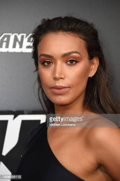 Ilfenesh Hadera attends the BlacKkKlansman New York Premiere at Brooklyn Academy of Music on July 30 2018 in New York City