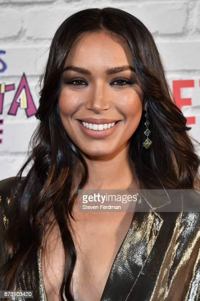 Ilfenesh Hadera attends the Netflix Original Series 'She's Gotta Have It' Premiere at Brooklyn Academy of Music on November 11 2017 in New York City