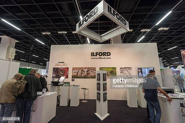 Ilford stand in Photokina 2014 in Cologne Germany 18 September 2014 Photokina the world's leading imaging fair brings together the industry trade...