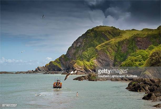ilfracombe lifeboat - ilfracombe stock photos and pictures