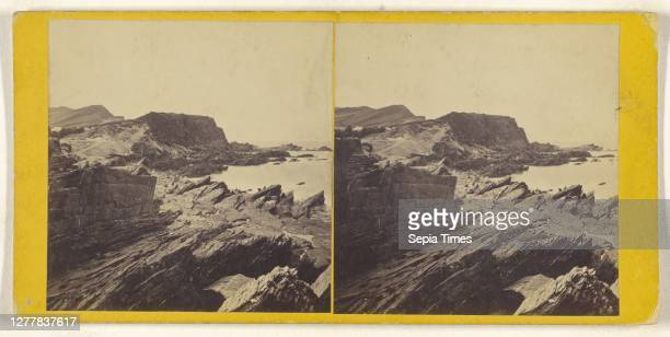 Ilfracombe. The Beach from Capstone Parade; British; about 1860; Albumen silver print.