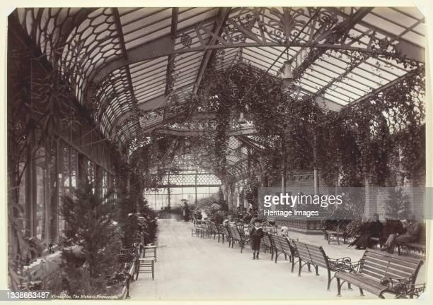 Ilfracombe, the Victoria Promenade, 1860/94. Albumen print. Artist Francis Bedford.