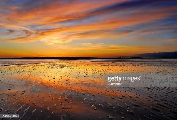 Ilha da Tavira sunset