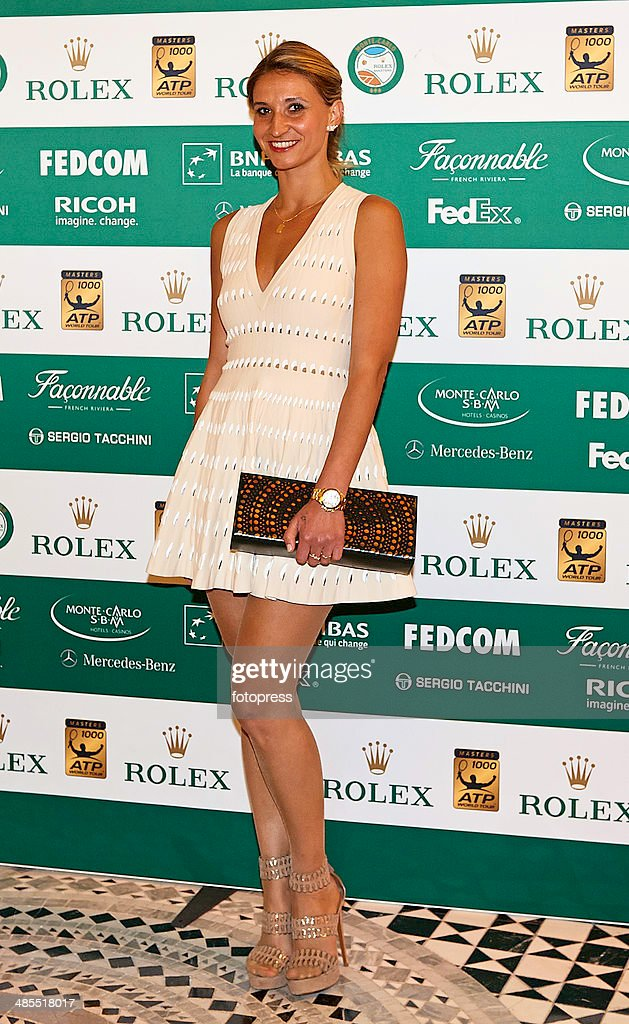 Celebrities At ATP Masters Series: Monte Carlo Rolex Masters - Day Six : News Photo