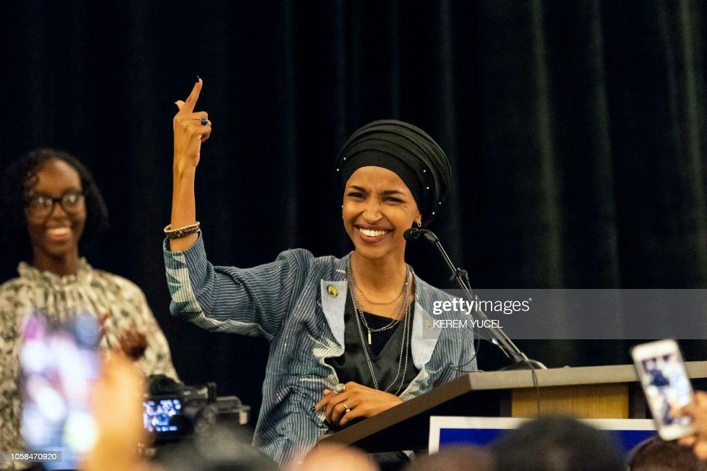 TOPSHOT-US-POLITICS-ELECTION-VOTE : News Photo