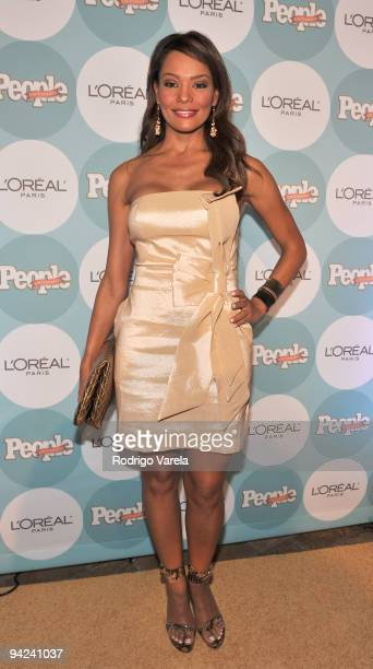 Ilia Calderon arrives at the 2009 Premios People En Espanol event at Club 50 at Viceroy Miami on December 9 2009 in Miami Florida