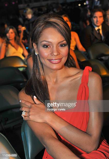 Ilia Calderon attend the Premio Lo Nuestro at Bank United Center on MArch 26 2009 in Coral Gables Florida