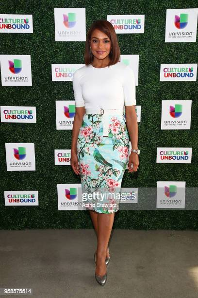 Ilia Calderon attends the 2018 Univision Upfront at Spring Studios on May 14 2018 in New York City