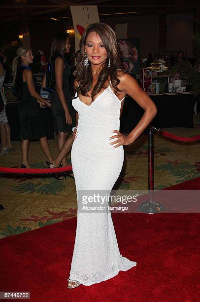 Ilia Calderon attends the 7th Annual Fed Ex and St Jude Angels and Stars Gala at InterContinental Hotel on May 16 2009 in Miami Florida