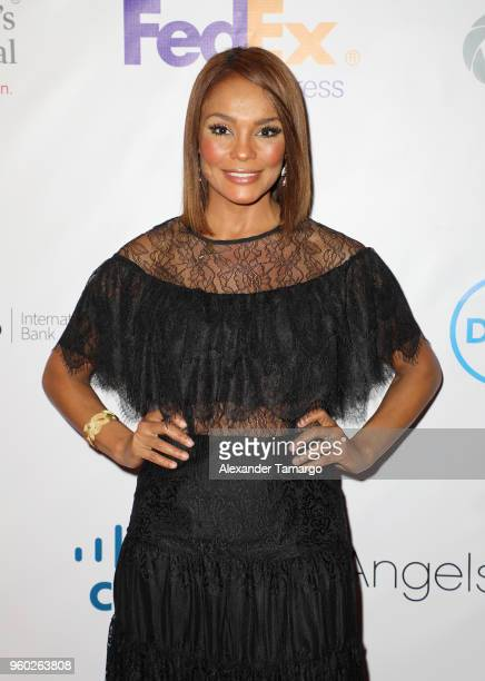 Ilia Calderon is seen at the 16th Annual FedEx/St Jude Angels Stars Gala on May 19 2018 in Miami Florida