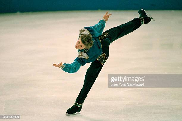Ilia Kulik from Russia performs at the 1996 European Championships