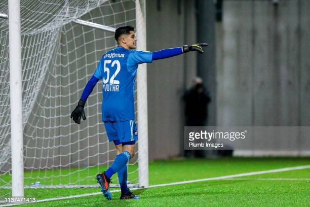 Ilias Moutha-Sebtaoui of RSC Anderlecht during the Reserve Pro League Cup match between OH Leuven Beloften and RSC Anderlecht Reserve at the Neerpede...
