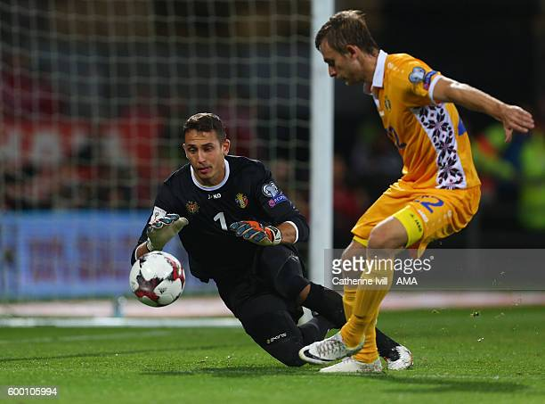 Ilie Cebanu of Moldova during the 2018 FIFA World Cup Group D qualifying match between Wales and Moldova at Cardiff City Stadium on September 5 2016...