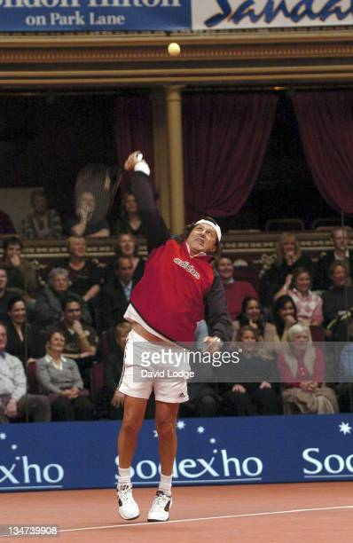 Ilie Nastase at The 2005 Masters Tennis Tournament in London at the Royal Albert Hall on November 29 2005