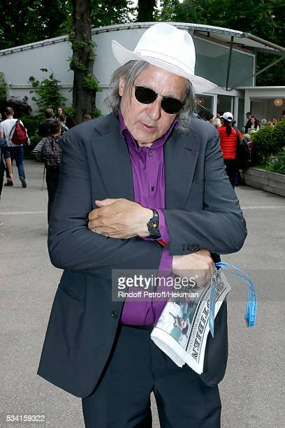 Ilie Nastase attends the 2016 French Tennis Open Day Four at Roland Garros on May 25 2016 in Paris France