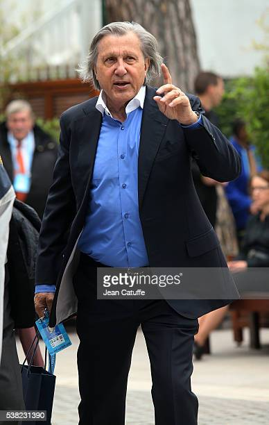 Ilie Nastase attends the women's final on day 14 of the 2016 French Open held at RolandGarros stadium on June 4 2016 in Paris France