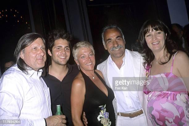 Ilie Nastase Mansour Bahrami's Son Mansour Bahrami's wife Mansour Bahrami and Amalia Nastase
