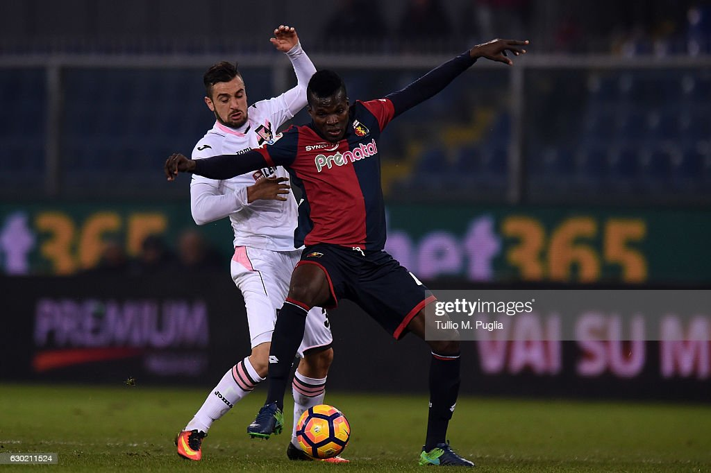 Genoa CFC v US Citta di Palermo - Serie A : News Photo