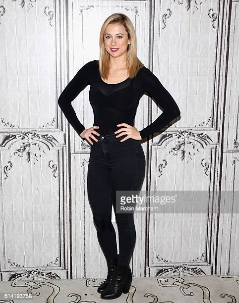 Iliza Schlesinger attends AOL Build Speakers Series Iliza Shlesinger Separation Anxiety at AOL Studios In New York on March 7 2016 in New York City