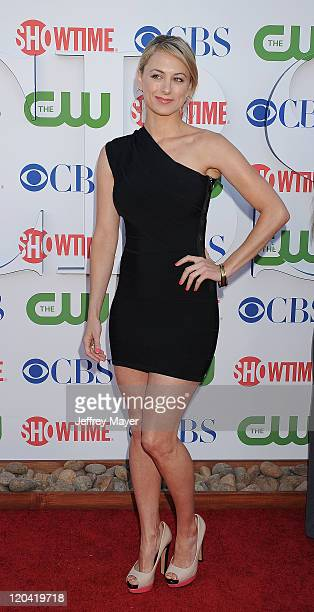 Iliza Shlesinger arrives at the TCA Party for CBS The CW and Showtime held at The Pagoda on August 3 2011 in Beverly Hills California