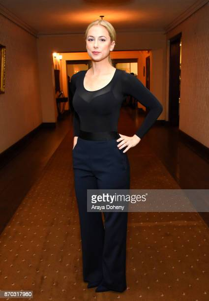 Iliza Shlesinger at the International Myeloma Foundation 11th Annual Comedy Celebration at The Wilshire Ebell Theatre on November 4 2017 in Los...