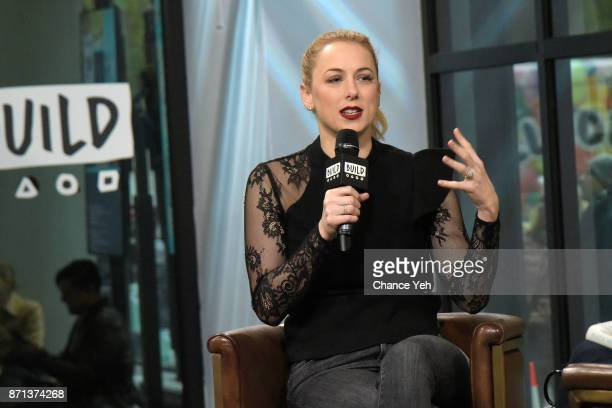 Iliza Shlesinger attends Build series to discuss 'Girl Logic The Genius And The Absurdity' at Build Studio on November 7 2017 in New York City