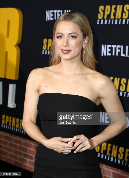 Iliza Shlesinger attends the Netflix Premiere Spenser Confidential at Westwood Village Theatre on February 27 2020 in Westwood California