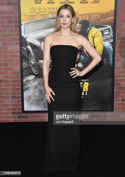 Iliza Shlesinger attends the premiere of Netflix's Spenser Confidential at Regency Village Theatre on February 27 2020 in Westwood California