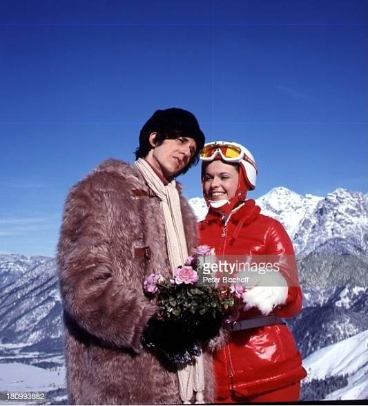Ilja Richter Kristina Nel Berge Winter Schnee Blumen Komödie