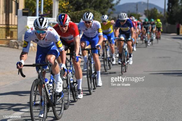 Iljo Keisse of Belgium and Team Deceuninck - Quick Step / Fabio Jakobsen of The Netherlands and Team Deceuninck - Quick Step Red Points Jersey /...