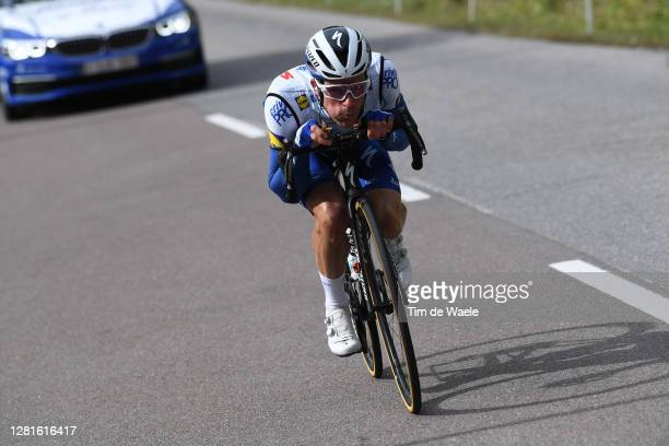Iljo Keisse of Belgium and Team Deceuninck - Quick-Step / during the 103rd Giro d'Italia 2020, Stage 18 a 207km stage from Pinzolo to Laghi di...