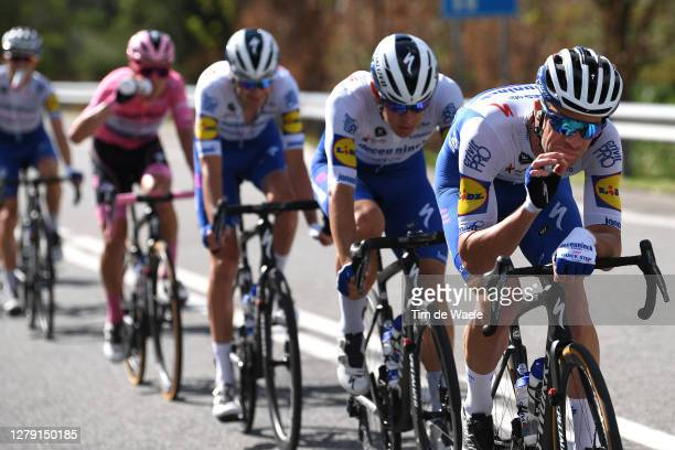 Iljo Keisse of Belgium and Team Deceuninck - Quick-Step / Fun / Joke / during the 103rd Giro d'Italia 2020, Stage 6 a 188km stage from Castrovillari...